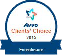 Avvo Clients' Choice 2015 - Foreclosure